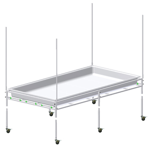 TOOLLESS ASSEMBLY TRAY STANDS