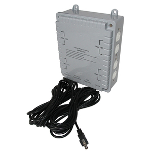 8000W 8-LIGHT HID MASTER LIGHTING RELAY CONTROLLER(PLASTIC) WITH TRIGGER CORD